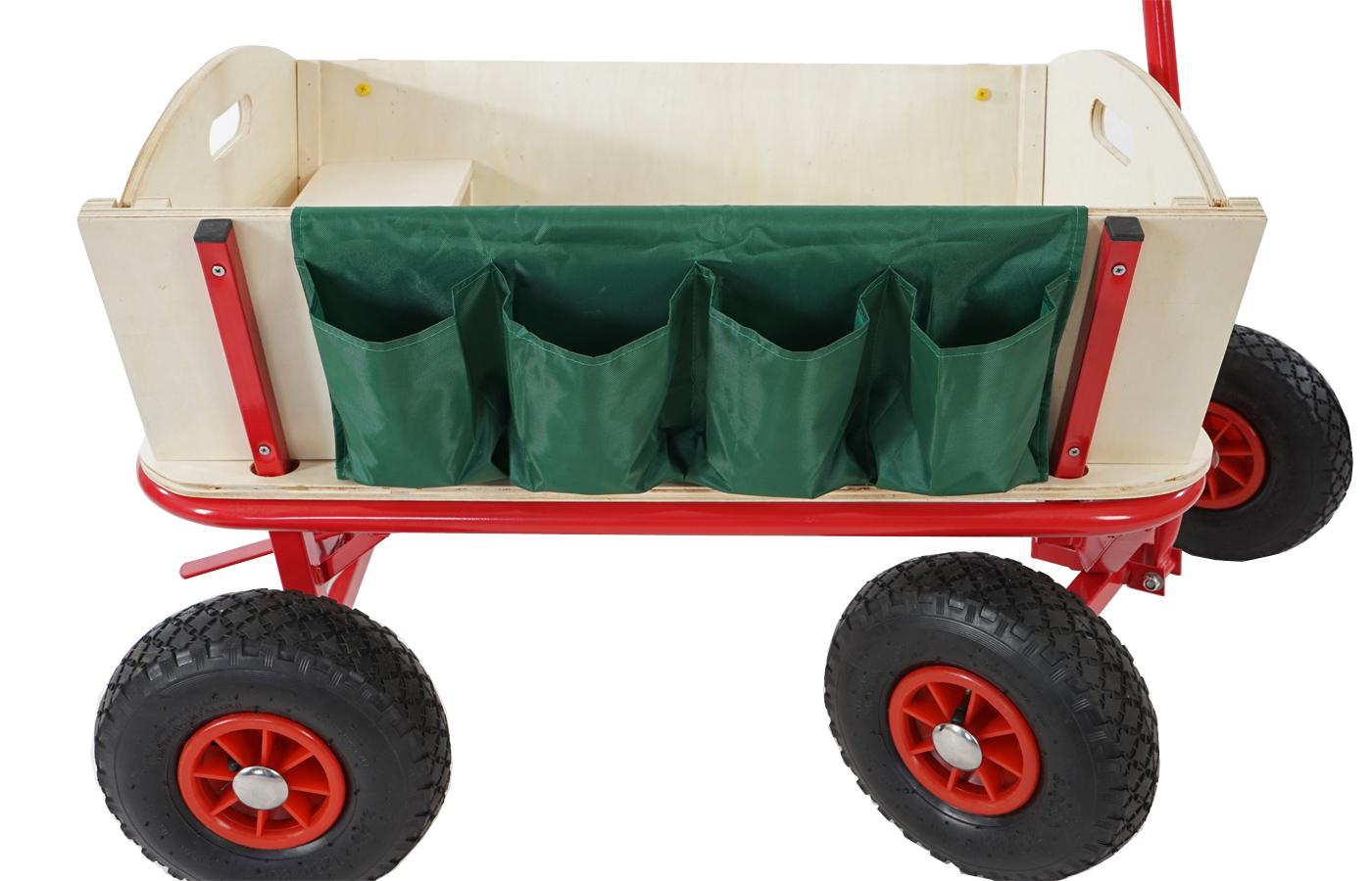 bollerwagen handwagen leiterwagen paris inkl sitz bremse flaschenhalter. Black Bedroom Furniture Sets. Home Design Ideas