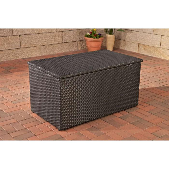 garten truhe gartenbox gartentruhe with garten truhe cheap xxl polyrattan kissenbox l. Black Bedroom Furniture Sets. Home Design Ideas