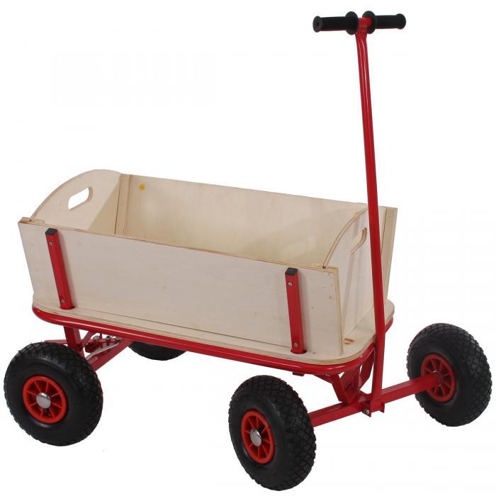 bollerwagen handwagen leiterwagen oliveira ohne sitz mit bremse ohne dach. Black Bedroom Furniture Sets. Home Design Ideas