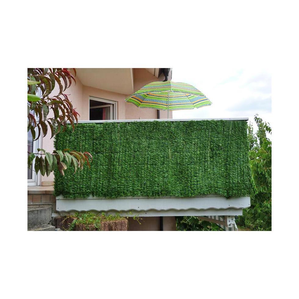 Verkleidung Sichtschutz für Balkon Terrasse Zaun Tanne breit 300 x