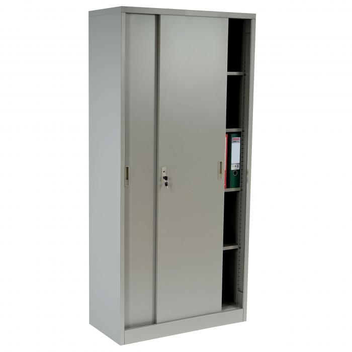 Boston T131, Metallschrank Büroschrank Stahlschrank, 43kg ...