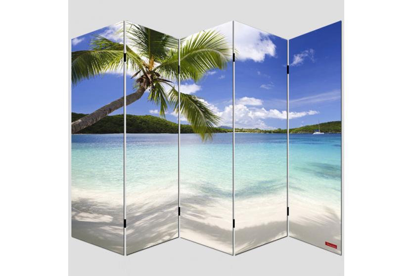 foto paravent paravent raumteiler trennwand m68 180x200cm strand. Black Bedroom Furniture Sets. Home Design Ideas