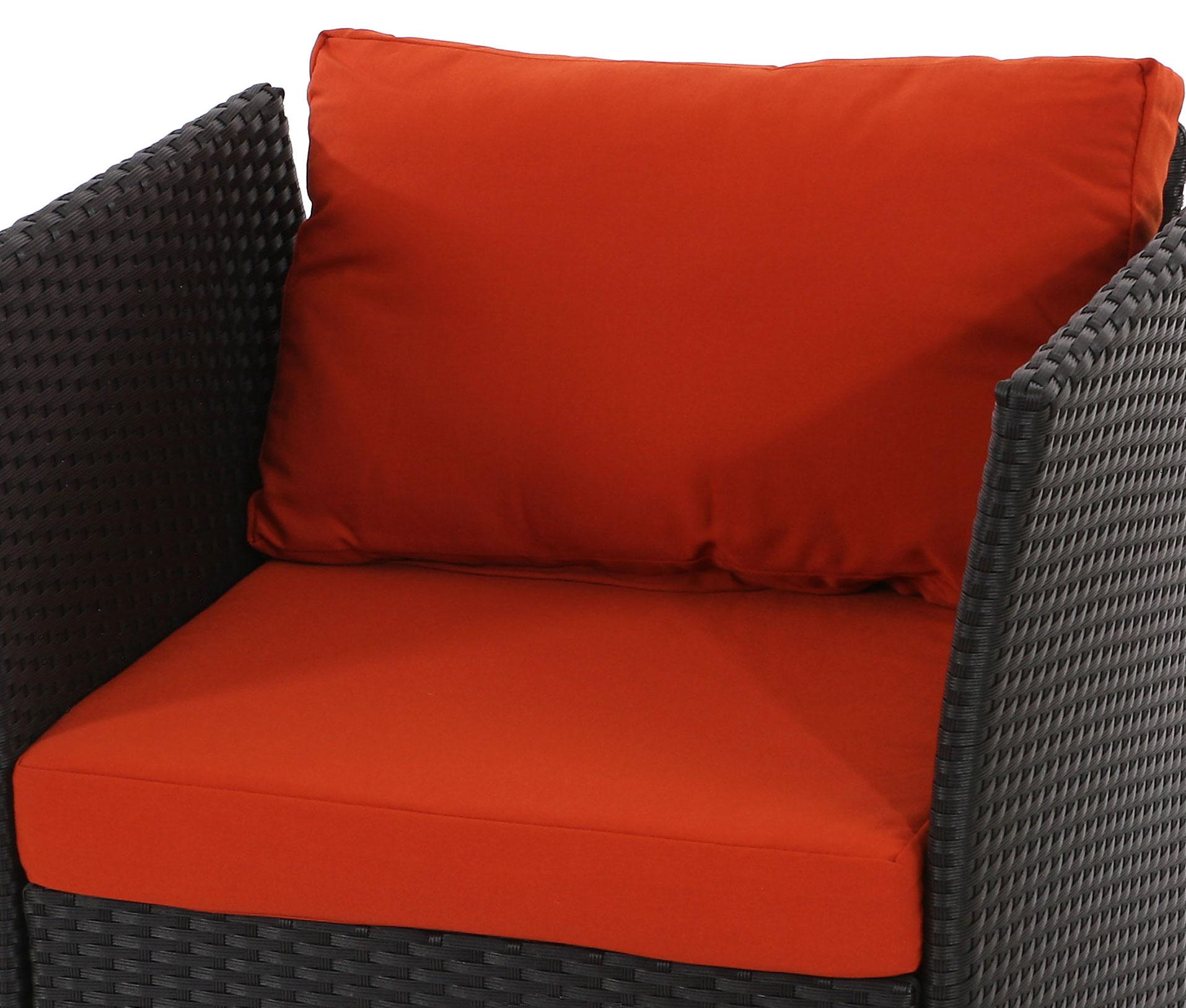 Poly rattan sofa siena modulare gastronomie qualit t for Sofa modular gris