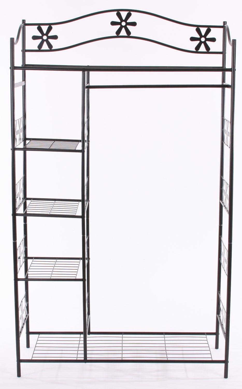 Metall garderobe genf garderobenst nder kleiderschrank for Garderobe 98 cm