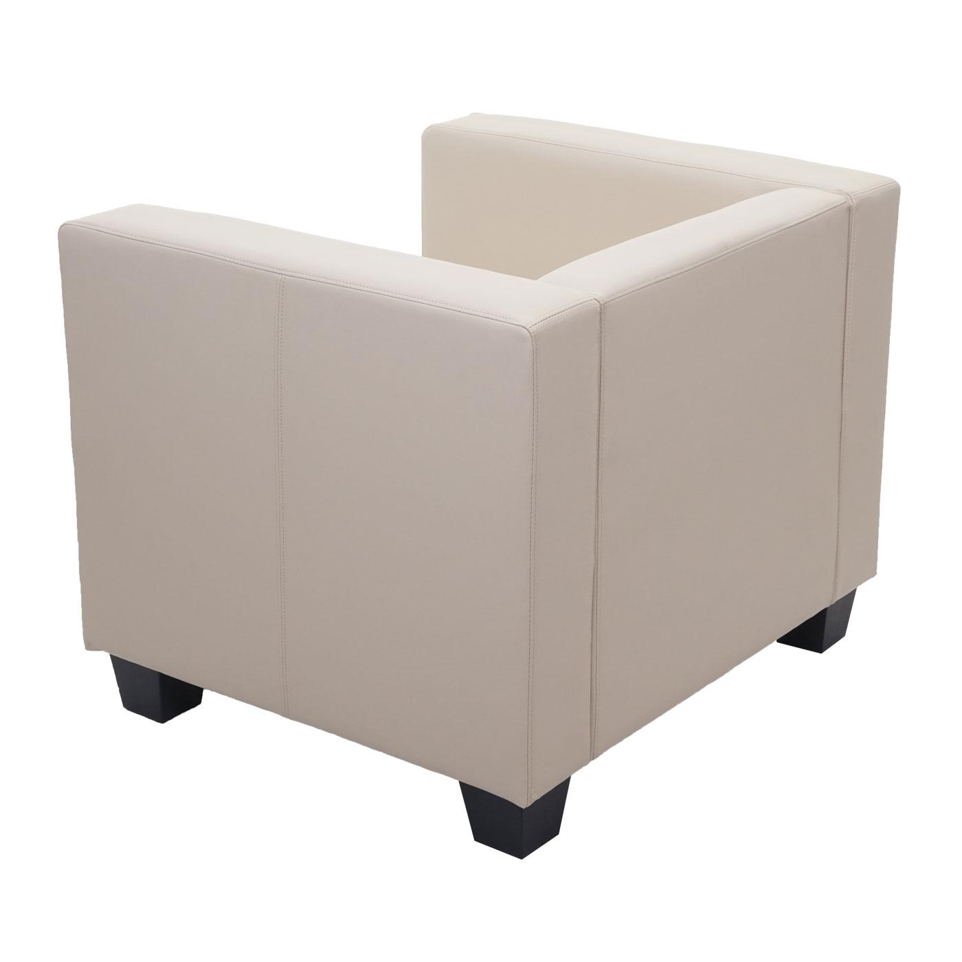 Sessel Loungesessel Lille Rückansicht