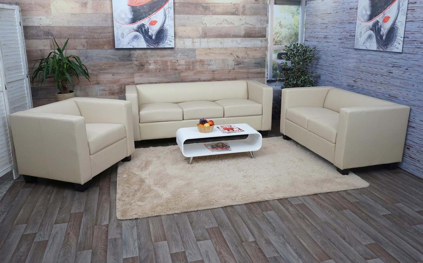 Sessel Loungesessel Lille Anwendungsbeispiel Couchgarnitur