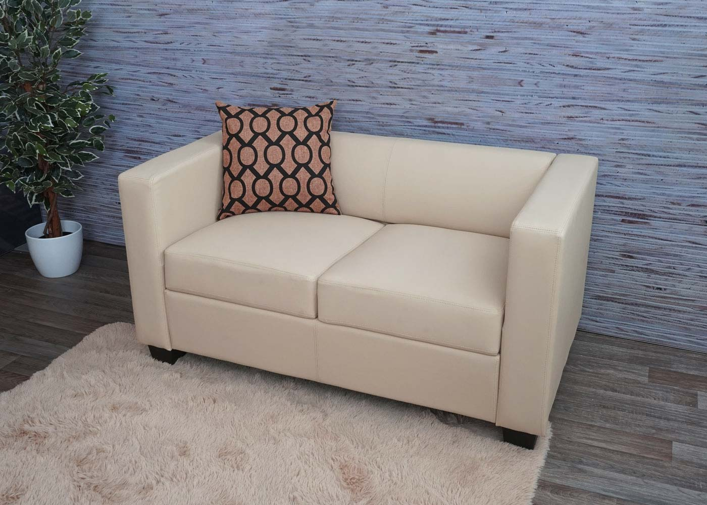 2er Sofa Couch Loungesofa Lille Ambiente-Bild
