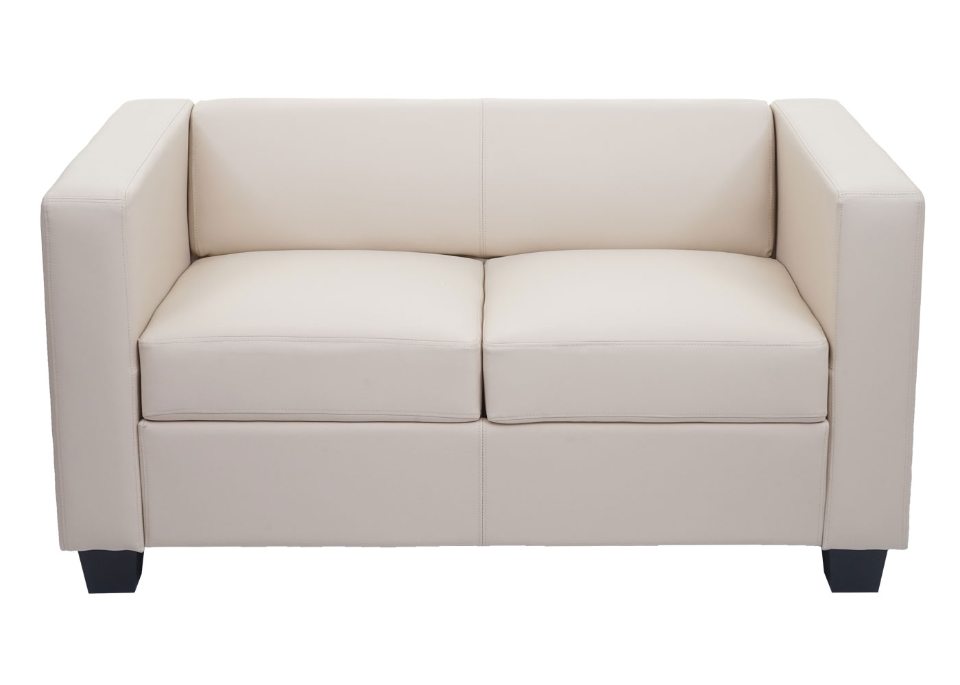2er Sofa Couch Loungesofa Lille Frontansicht