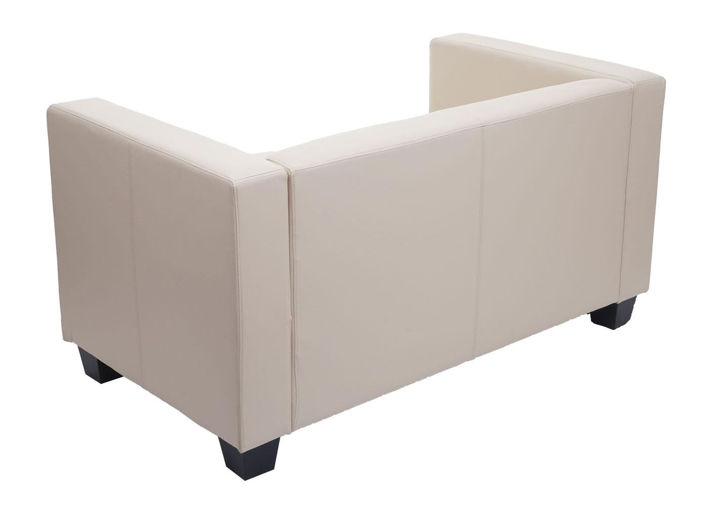 2er Sofa Couch Loungesofa Lille Rückansicht
