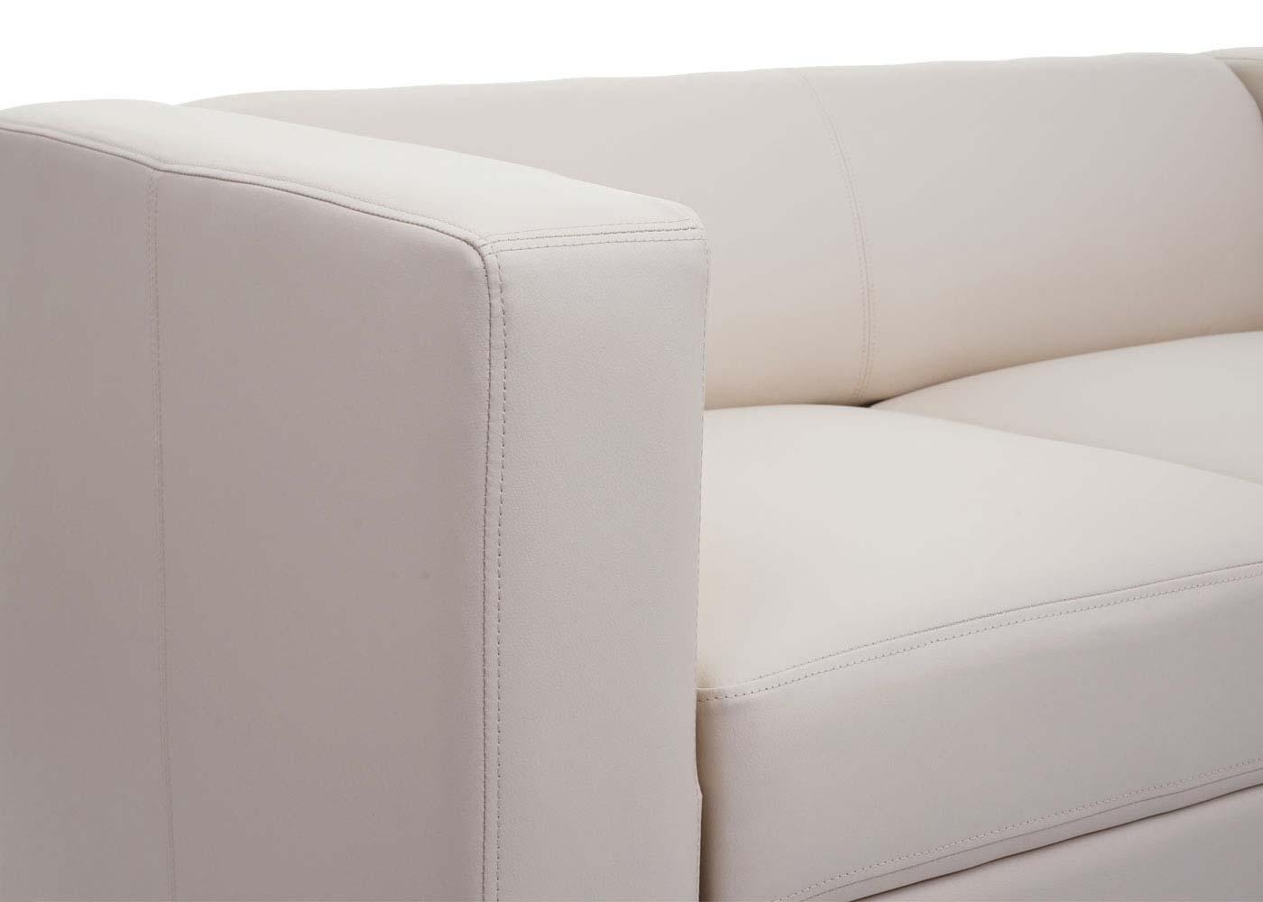 2er Sofa Couch Loungesofa Lille Detailansicht Armlehne