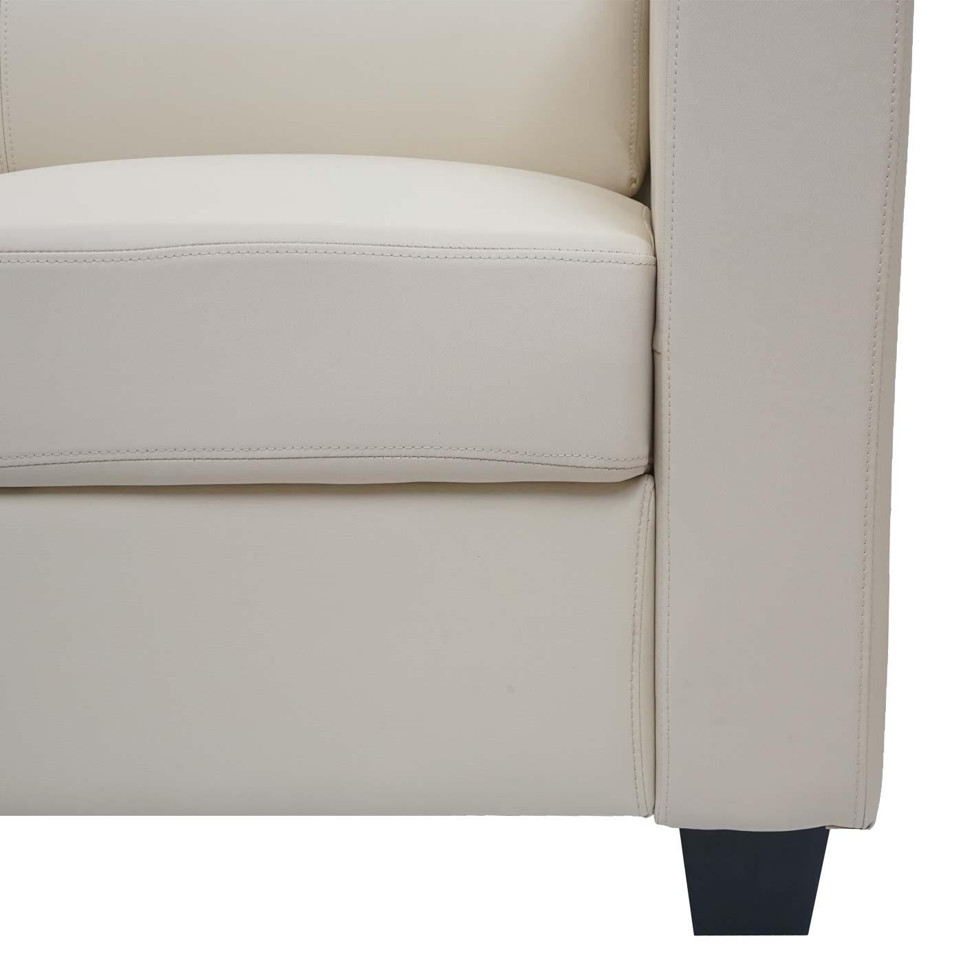 3-2-1 Sofagarnitur Couchgarnitur Loungesofa Lille Detailansicht Aufbau