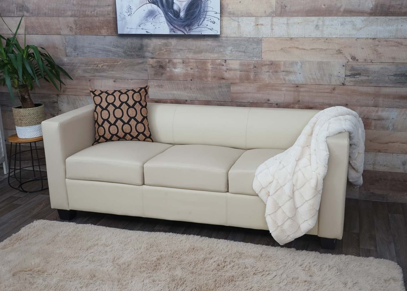 3er Sofa Couch Loungesofa Lille Ambiente-Bild