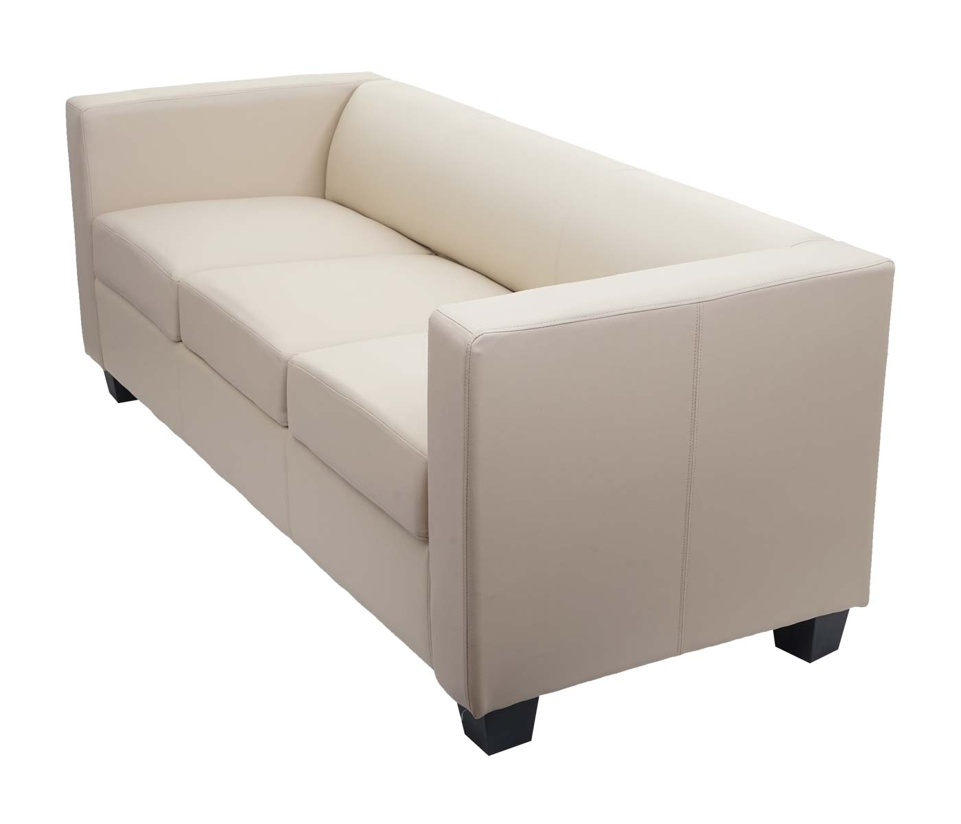 3er Sofa Couch Loungesofa Lille Seitenansicht