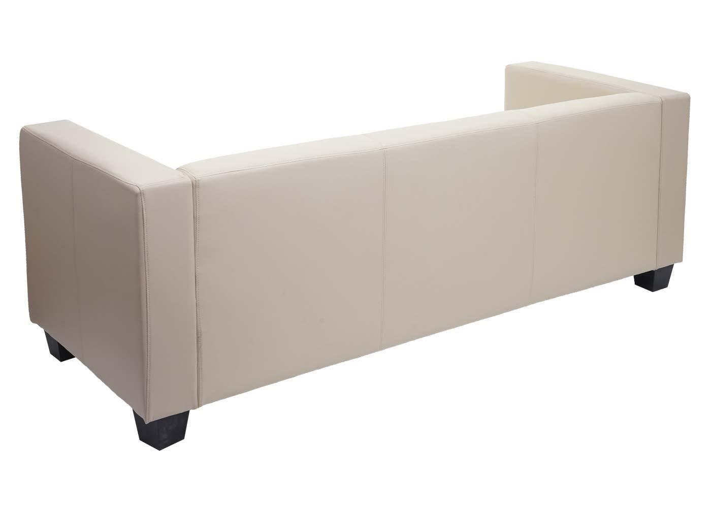 3er Sofa Couch Loungesofa Lille Rückansicht
