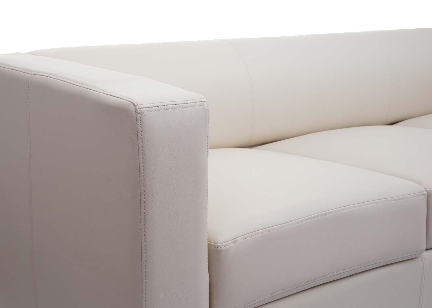 3er Sofa Couch Loungesofa Lille Detailansicht Armlehne
