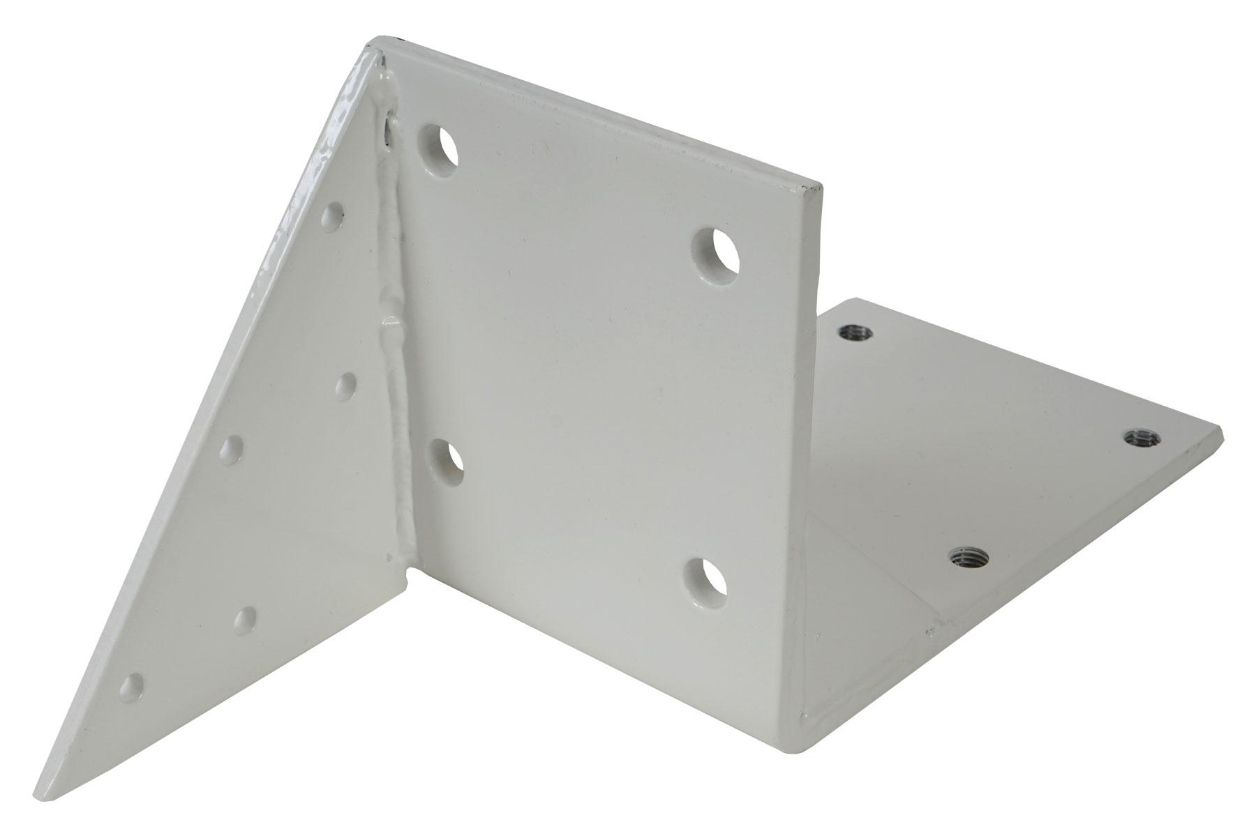 Dachsparrenadapter für T124 Rückansicht und Sparrenbefestigung