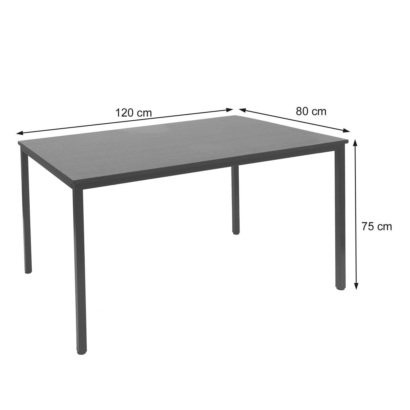 Schreibtisch Braila T705 Bemaßungsbild