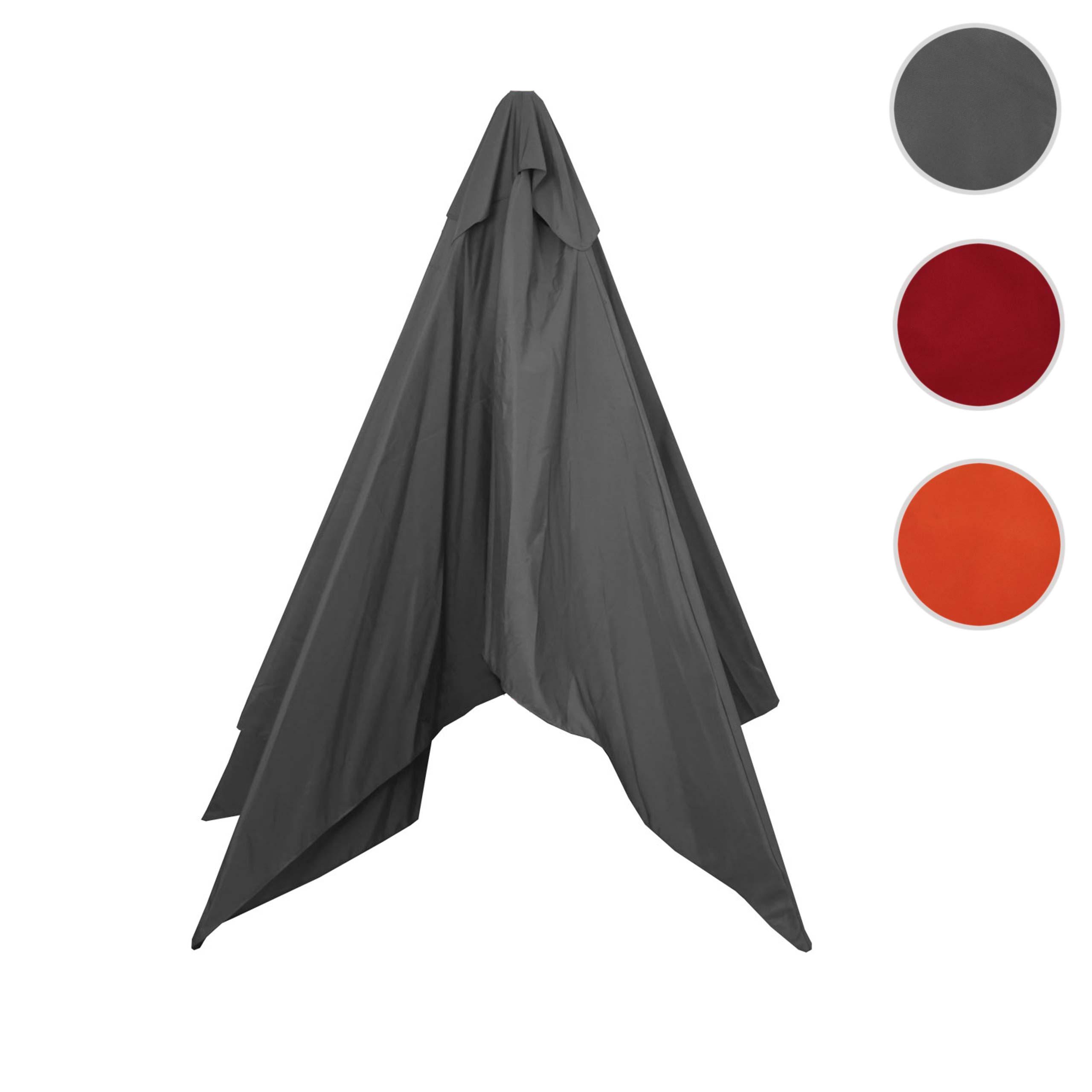 Mendler Bezug für Sonnenschirm Florida, Sonnenschirmbezug Ersatzbezug, 3x4m Polyester 6kg ~ Variantenangebot 69070