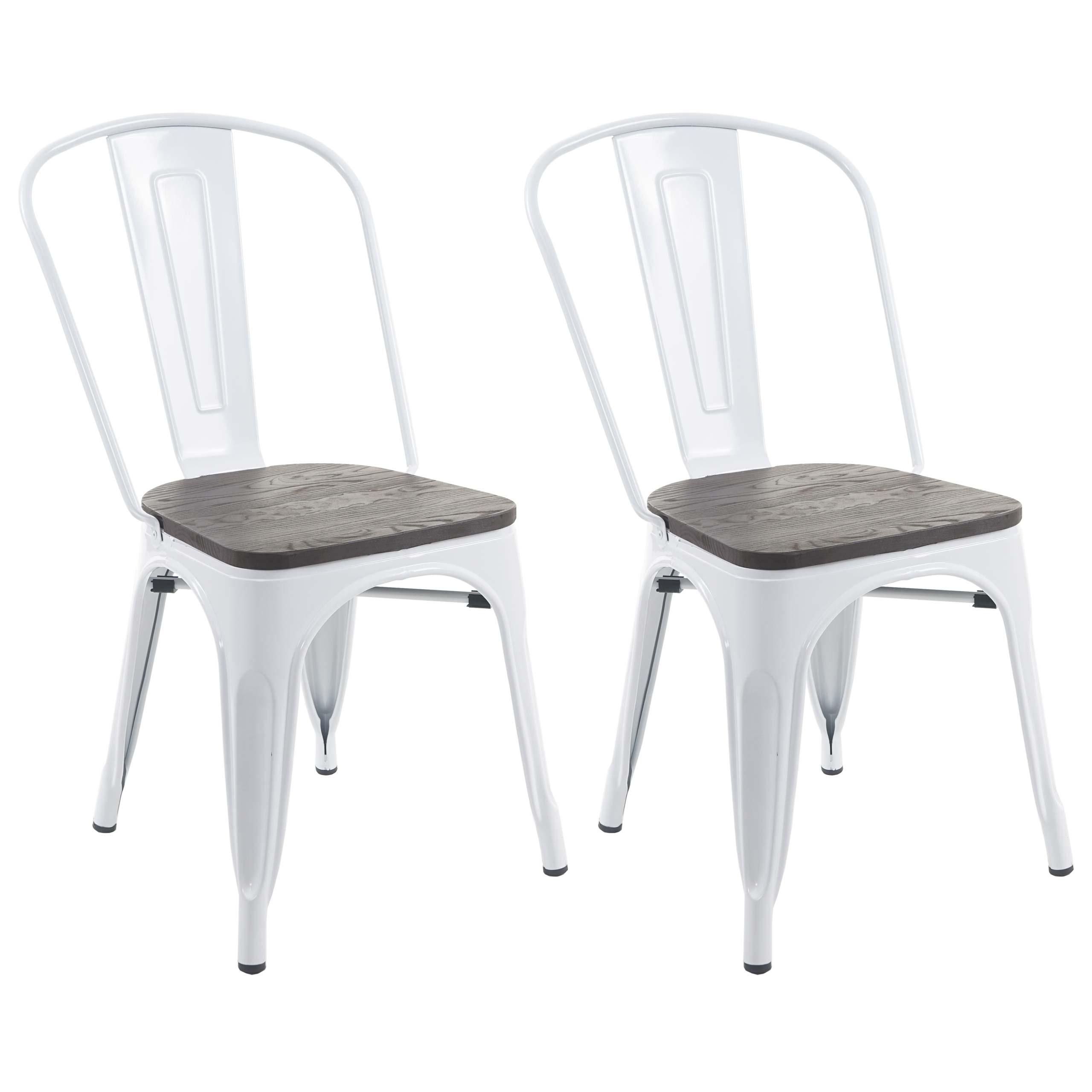 2x Stuhl Mcw A73 Inkl Holz Sitzflache Bistrostuhl Stapelstuhl