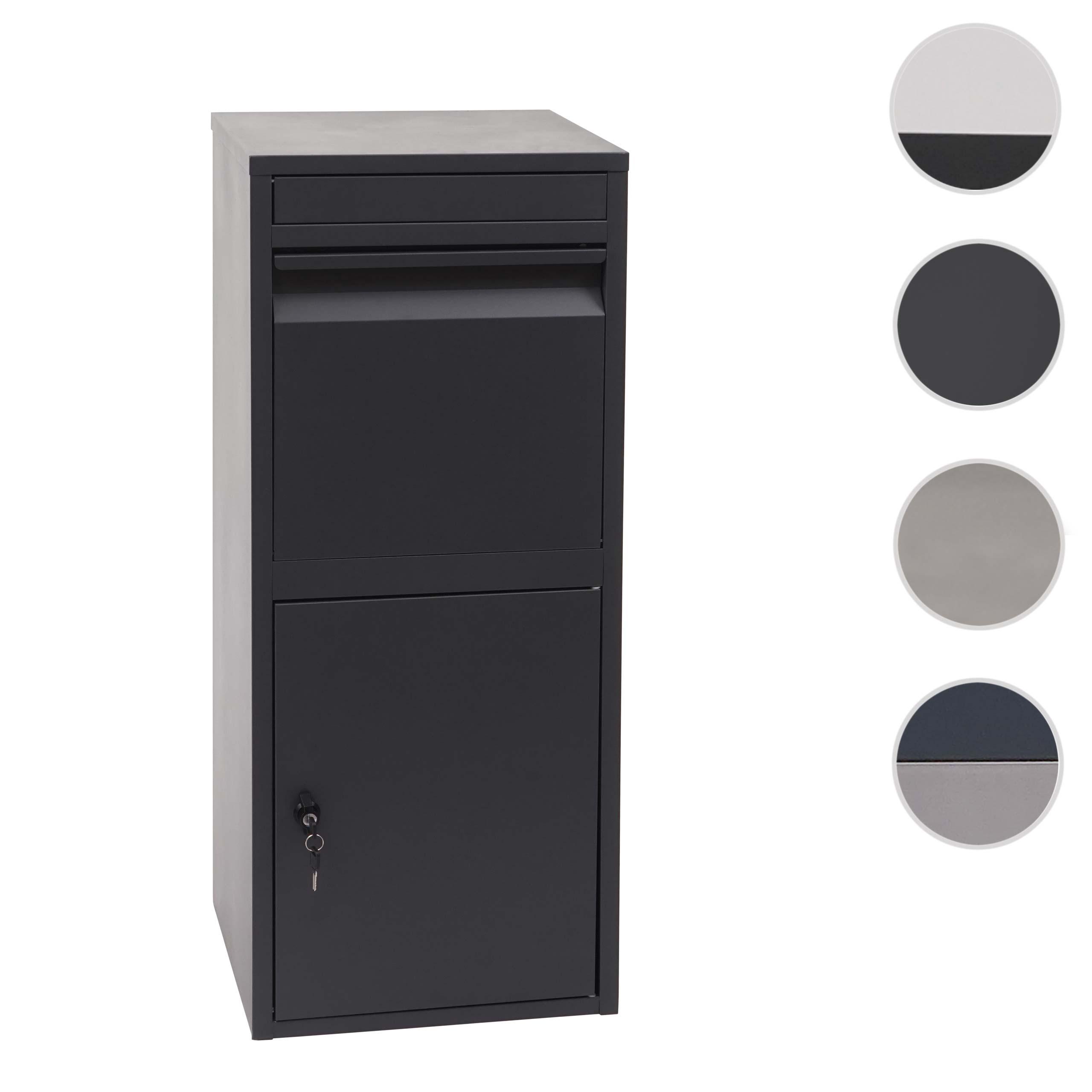 Mendler Paketkasten HWC-G80, Paketbox Standbriefkasten Paketbriefkasten Briefkasten ~ Variantenangebot 72093