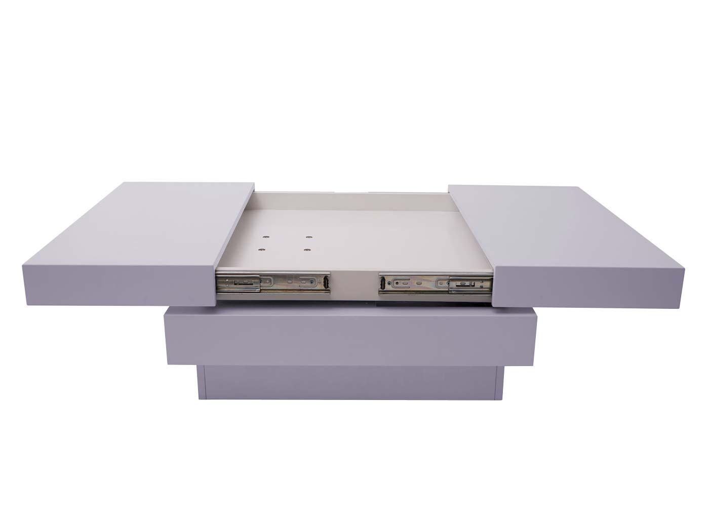 Couchtisch HWC-G83 ausziehbare Tischplatte