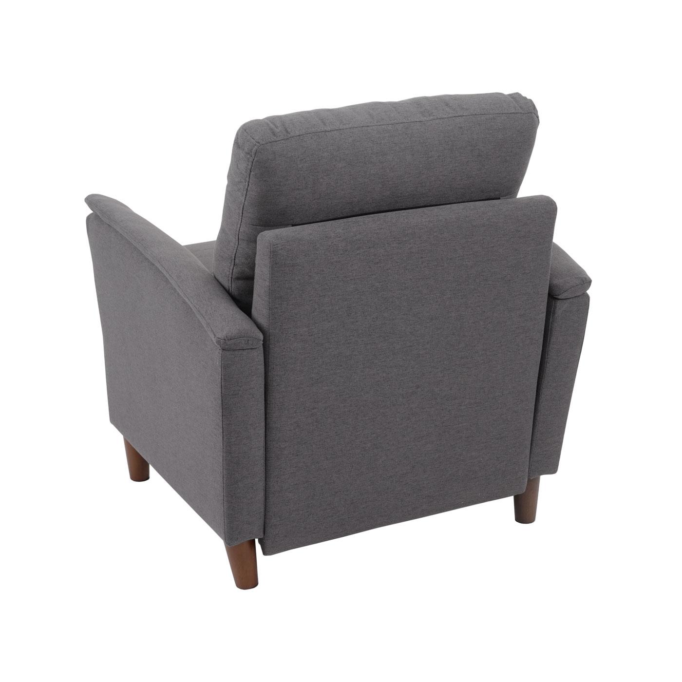 HWC-H23 Sessel Rückansicht