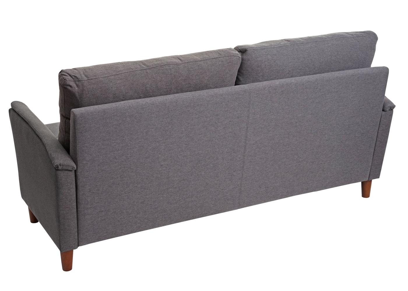 HWC-H23 3er Sofa Rückansicht