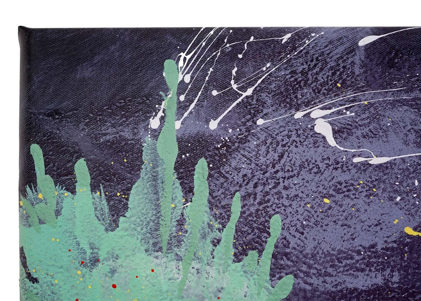 Wandgemälde HWC-H25 Detailansicht
