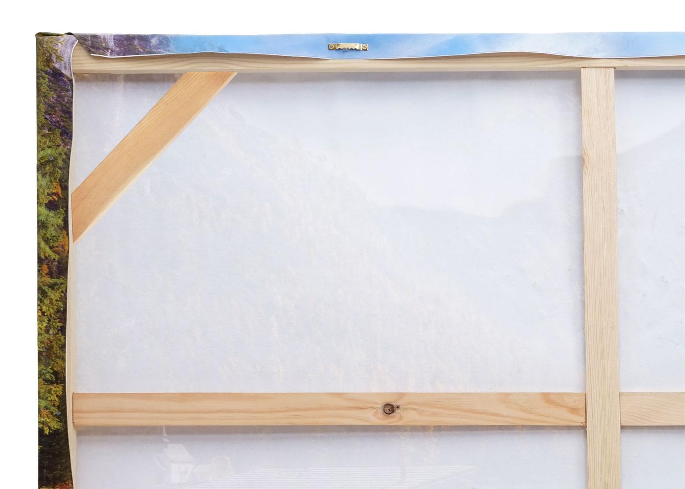 Wandgemälde HWC-H25 Detailansicht Rahmen