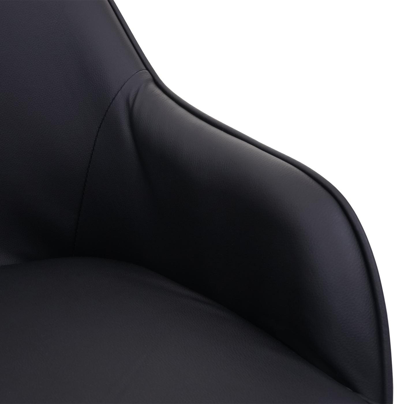 Esszimmerstuhl HWC-F82 Detailansicht Armlehne