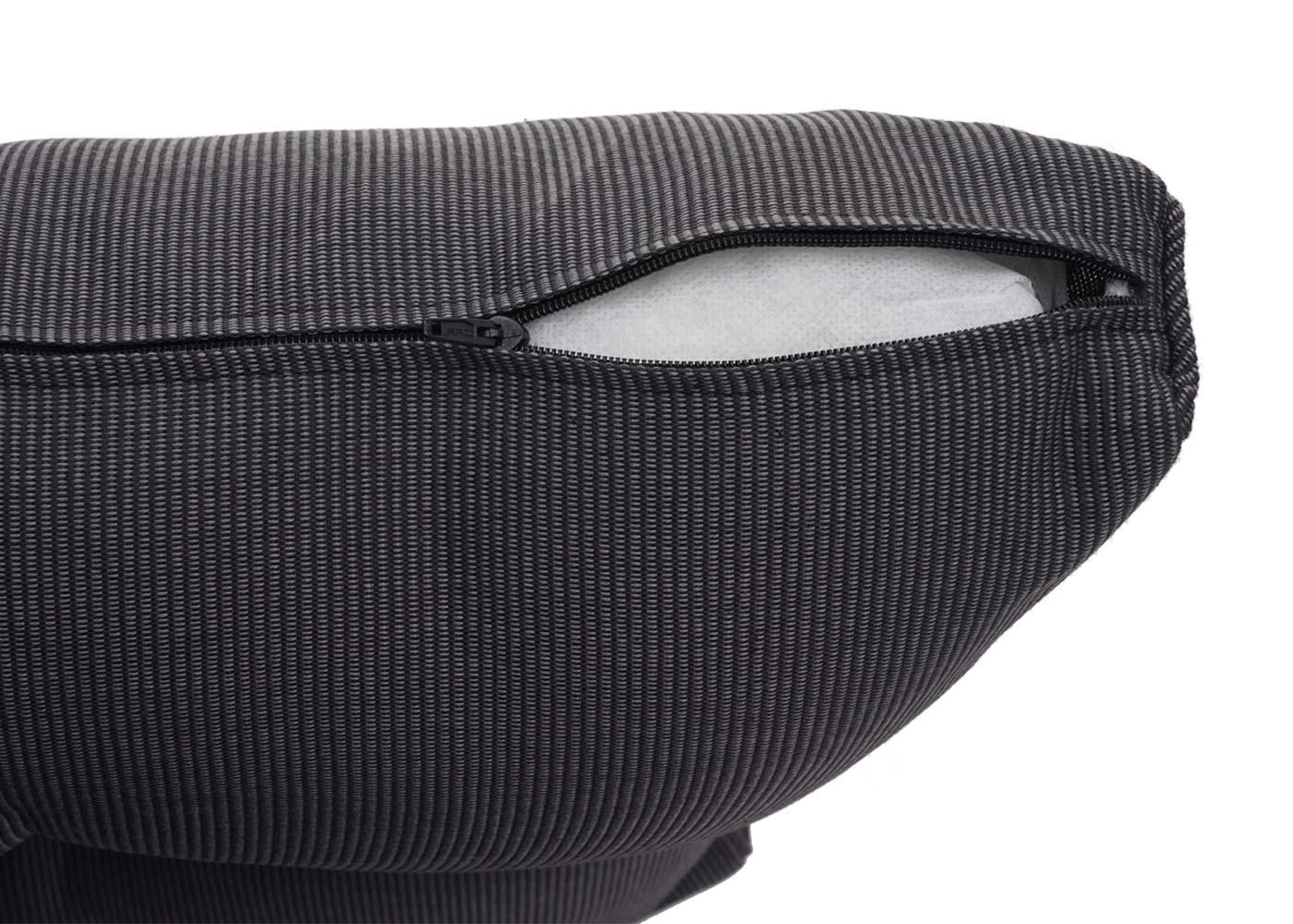 Gartengarnitur HWC-H64 Detailansicht Kissenbezug Reißverschluss