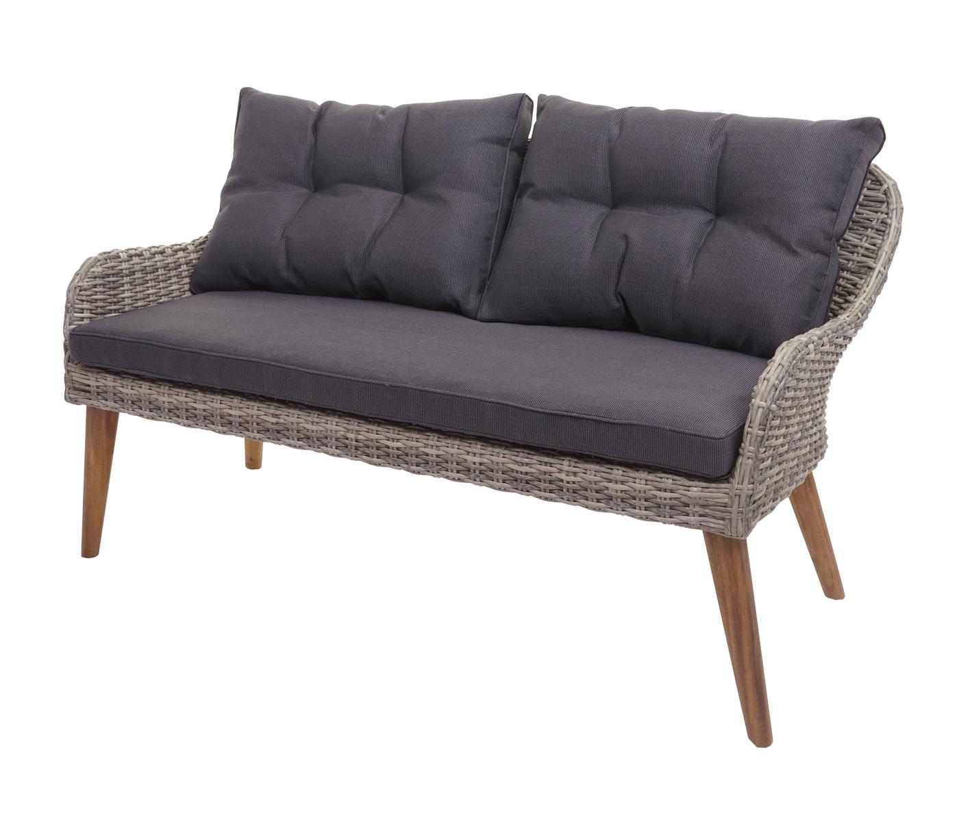 Gartengarnitur HWC-H64 Frontansicht Sofa