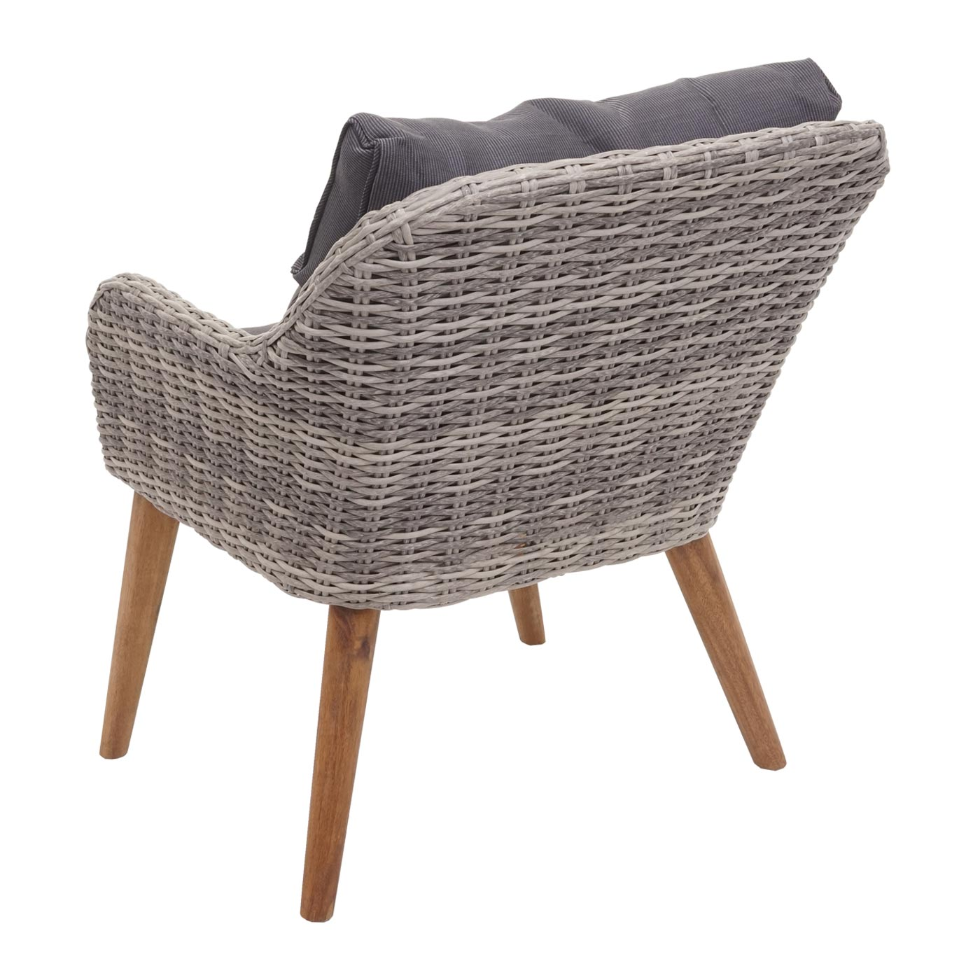 Gartengarnitur HWC-H64 Rückansicht Sessel