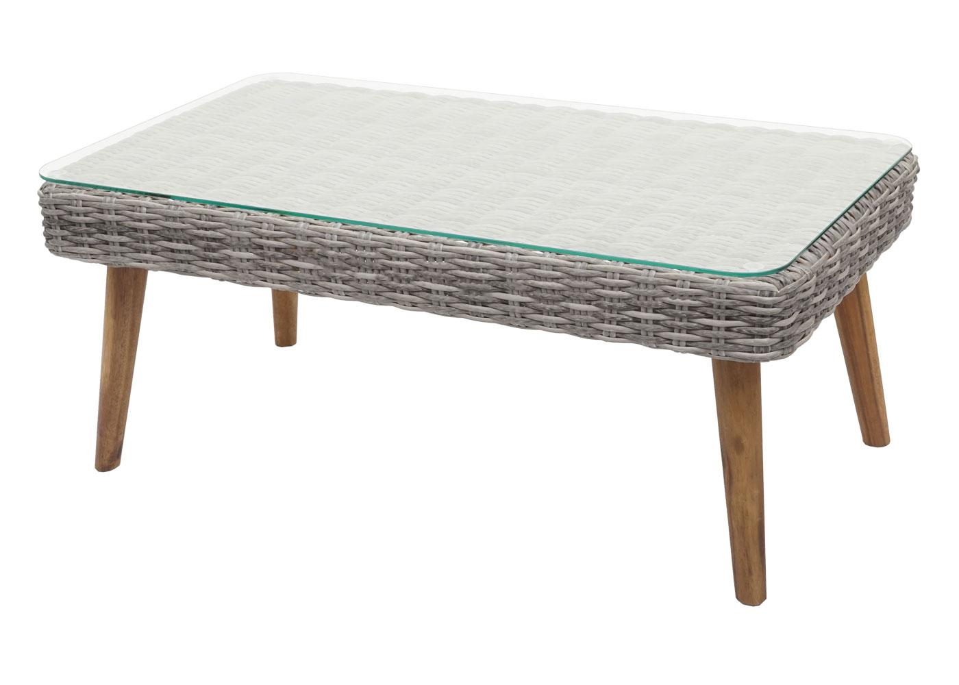 Gartengarnitur HWC-H64 Tisch