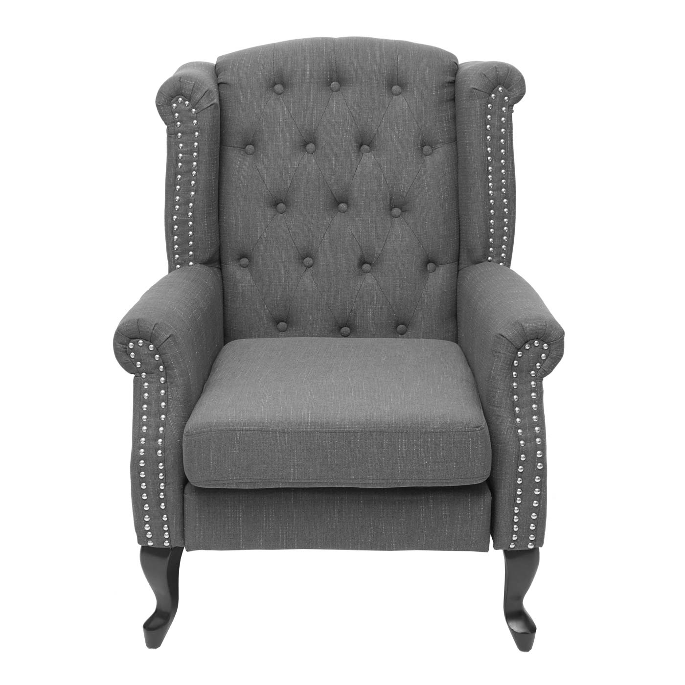 Chesterfield Sessel Frontansicht