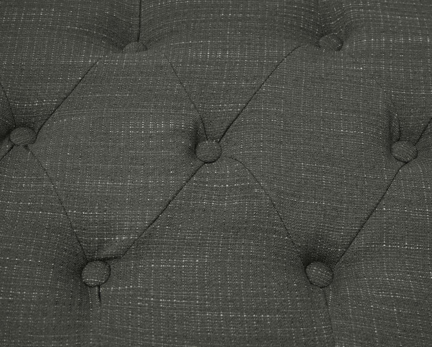 Chesterfield Sessel+Ottomane Detailbild Polster