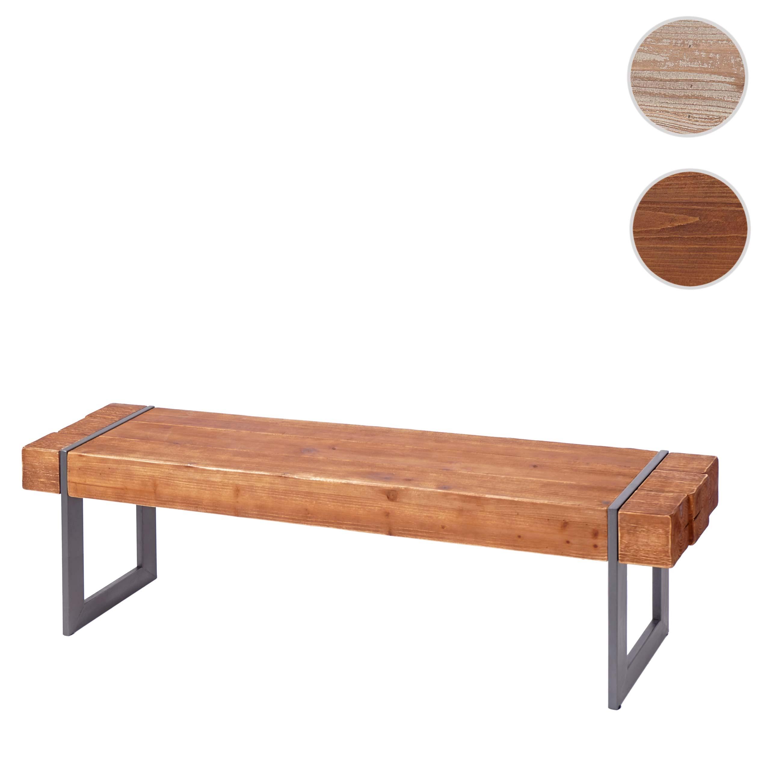 Mendler Sitzbank HWC-A15, Esszimmerbank Bank, Tanne Holz rustikal massiv ~ Variantenangebot 56897
