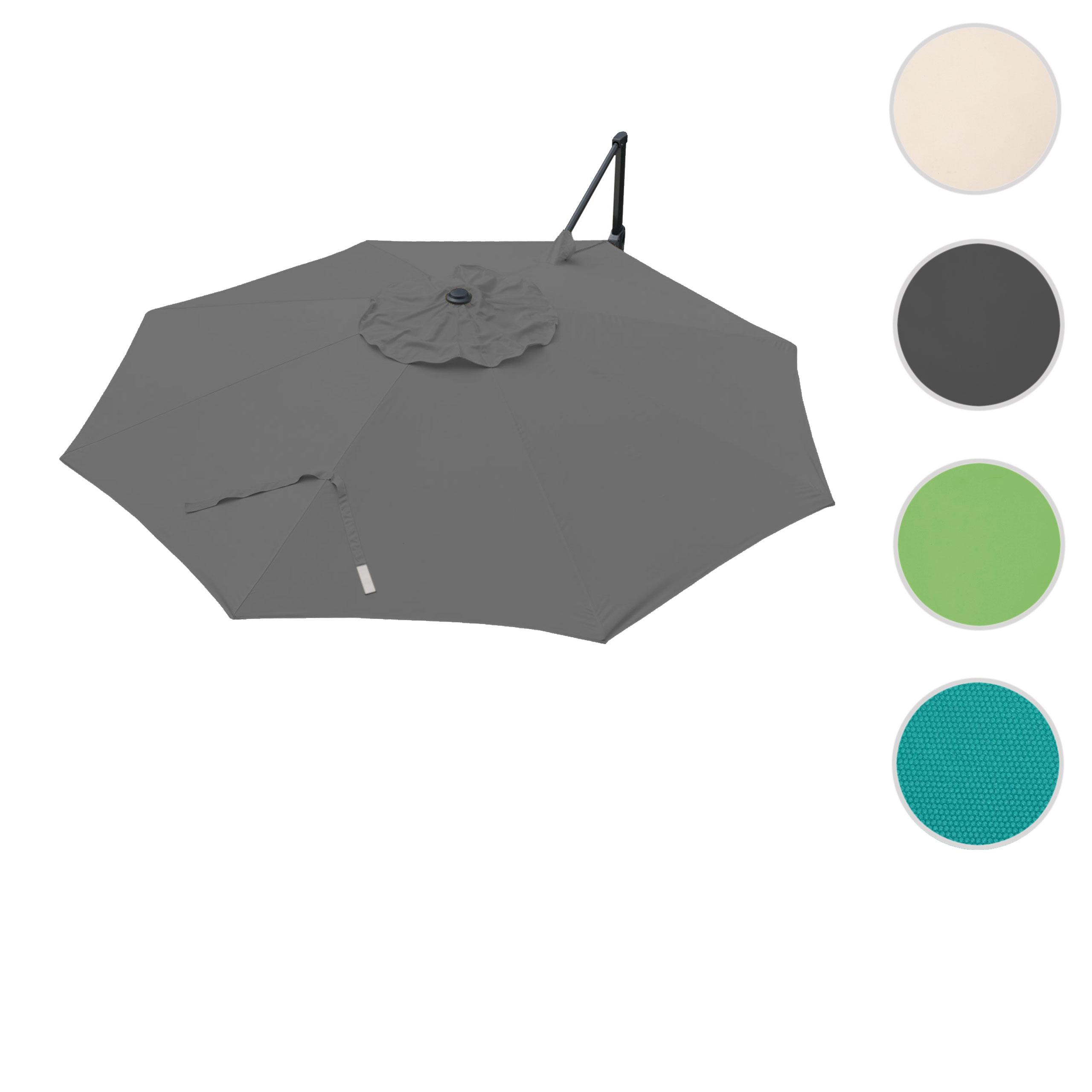 Mendler Bezug für Ampelschirm HWC-A39, Sonnenschirmbezug Ersatzbezug, Ř 3,5m Polyester 250g/m˛ ~ Variantenan 75878