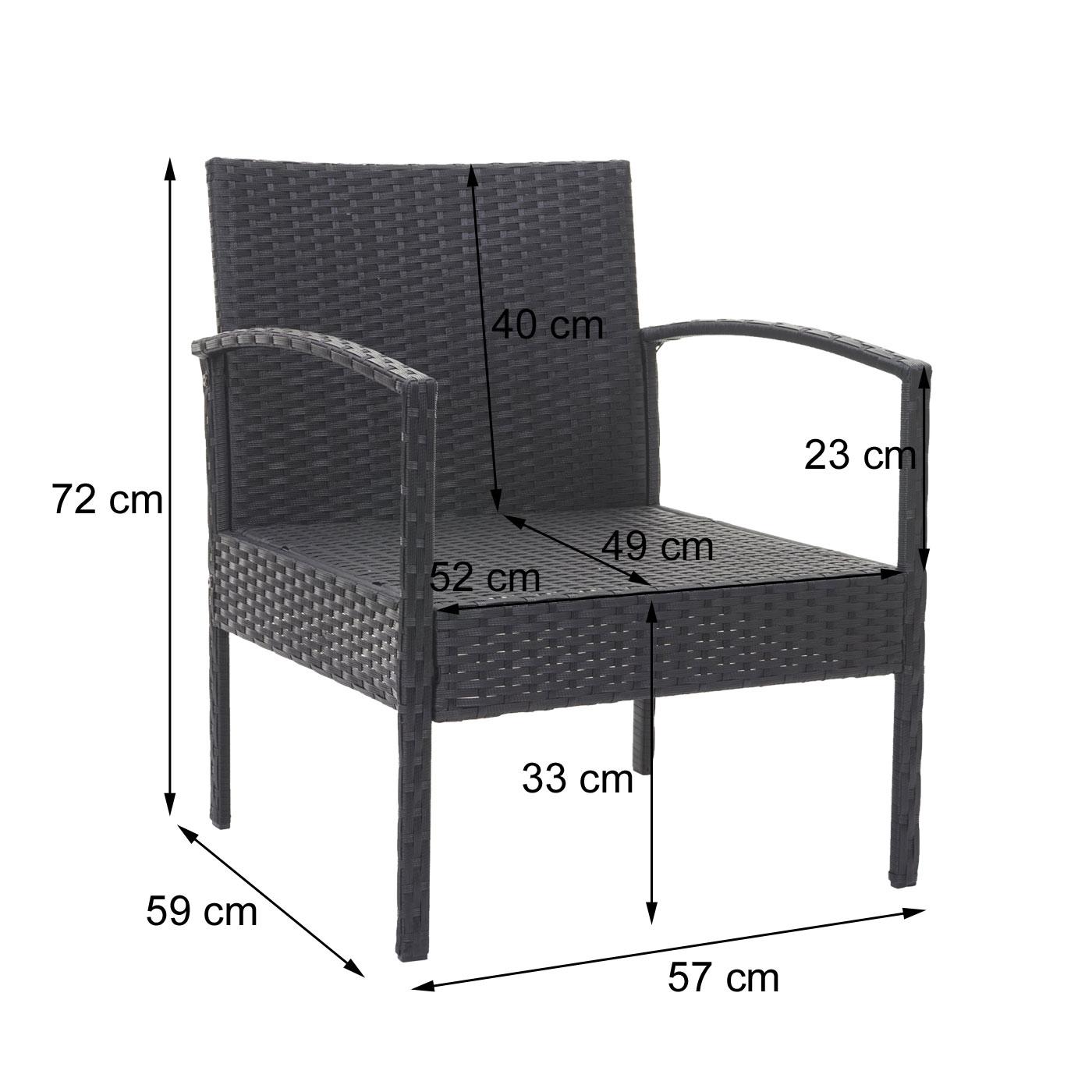 HWC-F56 Bemaßung Stuhl