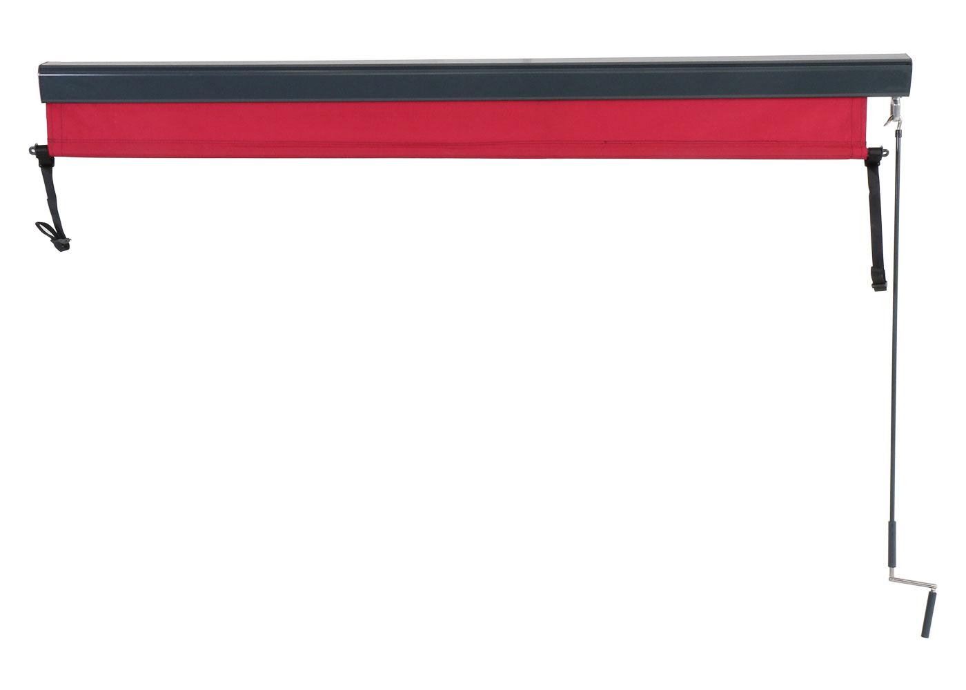 Vertikalmarkise HWC-F42 Hochgekurbelt