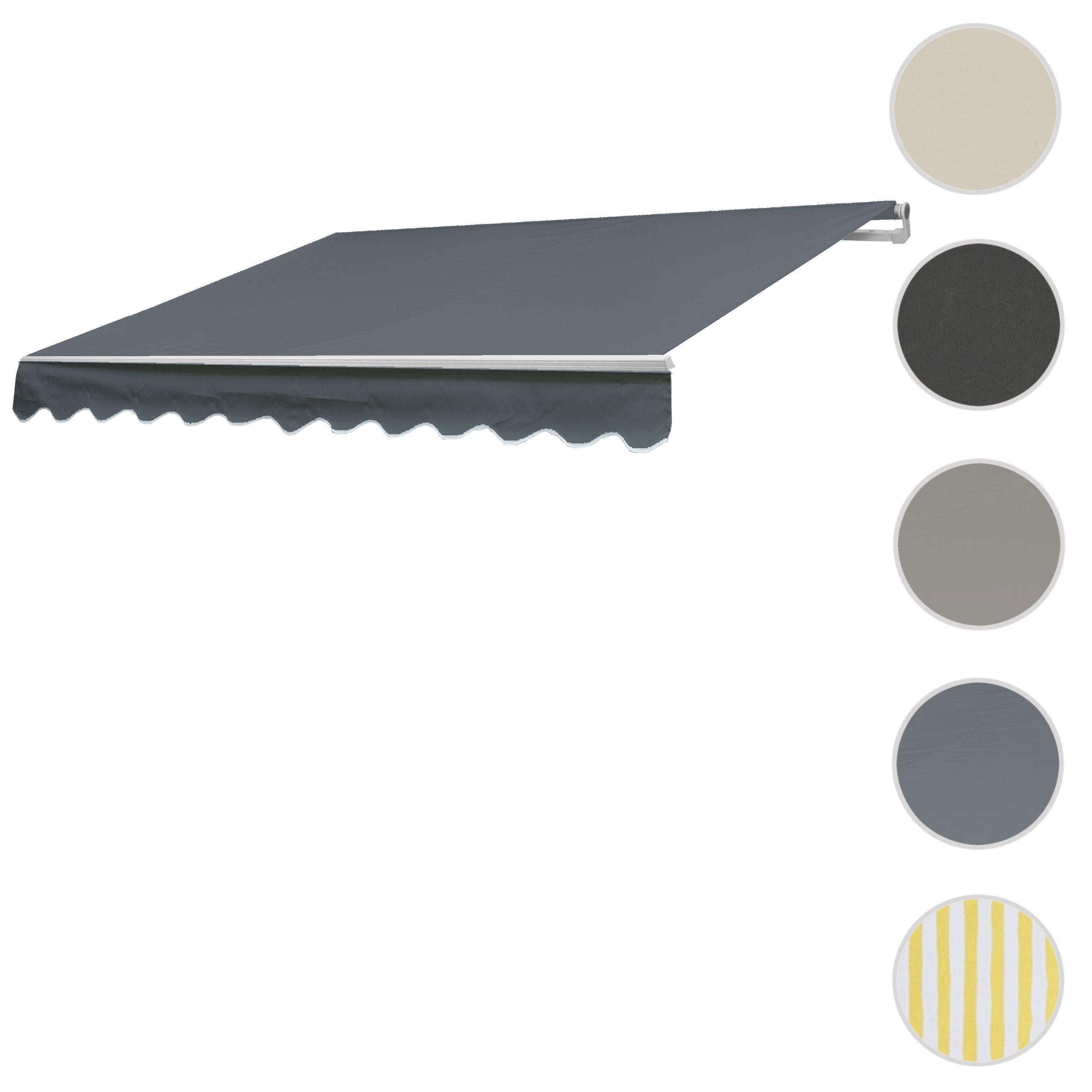 Mendler Bezug für Markise T792, Gelenkarmmarkise Ersatzbezug Sonnenschutz, 5x3m ~ Variantenangebot 77461